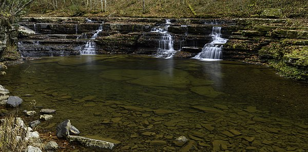 Campbell Waterfall at Camp Creek State Park