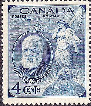 Commemorative stamp - Alexander Graham Bell commemorative issue of 1947