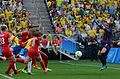 Canadá vence o Brasil no futebol feminino, na Rio 2016 (28989120472).jpg