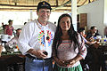 Canciller del Ecuador visita comunidad kichwa Añangu en el Parque Nacional Yasuní (8707950203).jpg