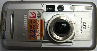 Canon PowerShot S - Image: Canon Power Shot S30Silver
