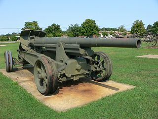 Canon de 155mm GPF 155 mm cannon
