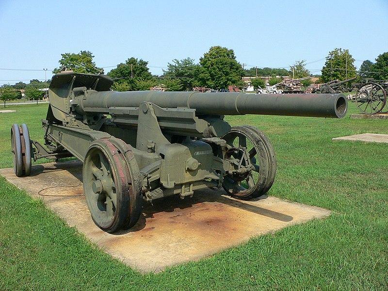 الحرب ال - الحرب العالميه الاولى 800px-Canon_de_155mm_GPF_3