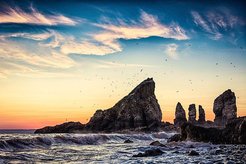 Cape Split, on the Bay of Fundy, Nova Scotia