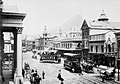 Cape Town trams, Adderley Street, ca. 1900.jpg