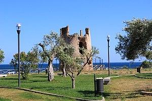 Capoterra - 18th century coast defence tower of Su Loi
