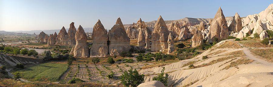 Cappadocia Chimneys Wikimedia Commons.jpg