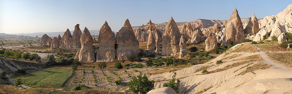Cappadocia Chimneys Wikimedia Commons