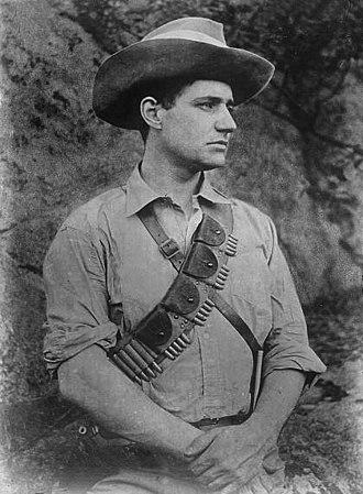 Fritz Joubert Duquesne - Captain Duquesne, Boer Army picture. ca. 1900