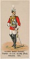 Captain, 2nd Life Guards (Red), England, 1879, from the Military Series (N224) issued by Kinney Tobacco Company to promote Sweet Caporal Cigarettes MET DPB874115.jpg