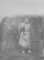 Captive soldier in Jinzhou, Dalian 1894.png