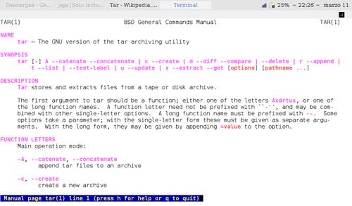 Tar - Wikiwand