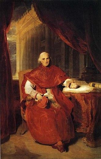 Ercole Consalvi - Cardinal Ercole Consalvi, by Sir Thomas Lawrence (1819).