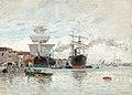 Carl Skånberg - Hamnbild från Venedig.jpg