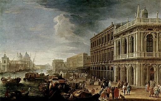 Carlevarijs, Luca - Riva degli Schiavoni with view to Salute - Galleria Corsini, Rome