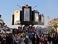 Carnevale di viareggio 2014, Non entrare in quel portale di Fabrizio Galli 01.JPG