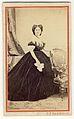 Carol Popp de Szathmáry - Elena Cuza în rochie cu crinolină.jpg