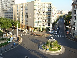 The Albert-Legris crossroads, in the heart of the Plateau de Vanves district