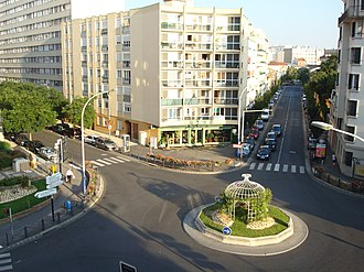 Vanves - The Albert-Legris crossroads, in the heart of the Plateau de Vanves district