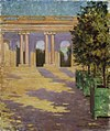 Carroll Beckwith - Arcade of the Grand Trianon, Versailles - 1974.69.15 - Smithsonian American Art Museum.jpg