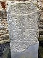 Carved stone Celtic Cross-shaft at Kilfenora Cathedral.jpg