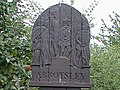 Carved wooden Village Sign - geograph.org.uk - 348490.jpg