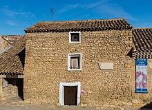 Casa natale del pittore a Fuendetodos