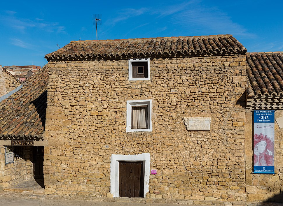 Casa natal de Francisco Goya, Fuendetodos, Zaragoza, España, 2015-01-08, DD 06