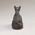 Cat on base inscribed for Bastet and an offerer MET 04.2.476 EGDP014455.jpg