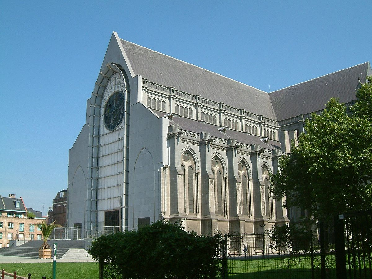 Lille cathedral wikipedia - Lille notre dame de la treille ...