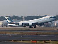 B-LJE - B748 - Cathay Pacific