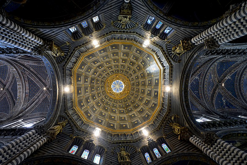 Cathedral (Siena) - Dome interior.jpg