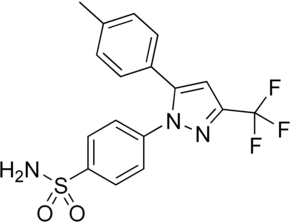 Celecoxib structure.png