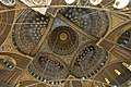Central dome surrounded by half domes - Mosque of Muhammad Ali (14799781132).jpg