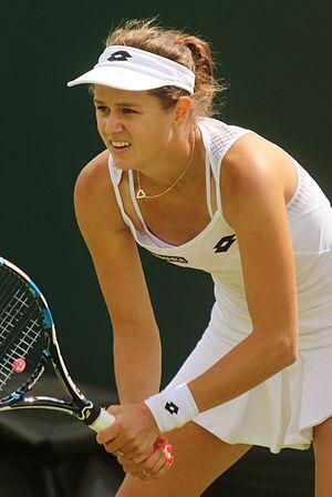 Jana Čepelová - Čepelová at the 2016 Wimbledon Championships