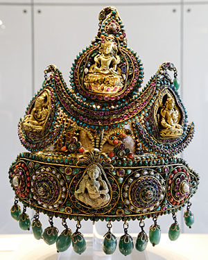 Nepal - A ceremonial crown of Nepalese royalty