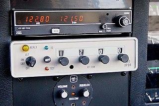 Transponder (aeronautics) airborne radio transponder used to transmit specific aircraft information in response to interrogation