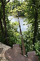 Chain Bridge on Lehigh River, Easton PA 01.JPG