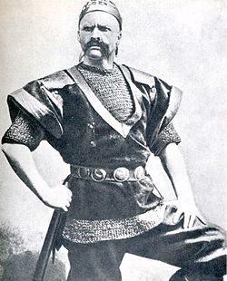 Chaliapin F. (Шаляпин Ф. И.) 1898 as varyag in Sadko.jpg