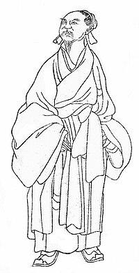张载与范仲淹_年二十一,以书谒范仲淹,一见知其远器,乃警之曰:「儒者自有名教可乐