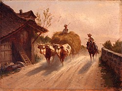 Charles Humbert - À Founex (1871).jpg