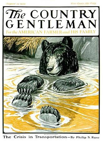 Charles Livingston Bull - Image: Charles Livingston Bull Country Gentleman cover 1922 08 22