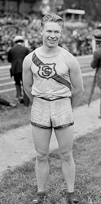 Charley Paddock - Charles Paddock after the 1920 Olympics