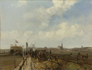 Racetrack at Scheveningen, opened 3 August 1846