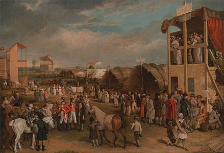 Charles Turner - An Extensive View of the Oxford Races - Google Art Project.jpg