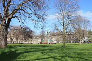 Charlotte Square - Charlotte Square from the SW