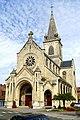 Chauny (02), église Saint-Martin, vue depuis le sud-ouest 1.jpg