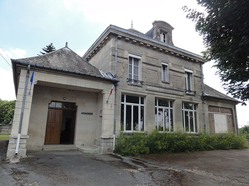 Chavigny (Aisne) mairie-école