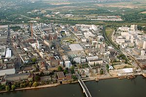 Mainz-Amöneburg - Location of InfraServ