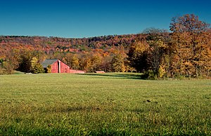 Cherry Township, Sullivan County, Pennsylvania - A farm in the township